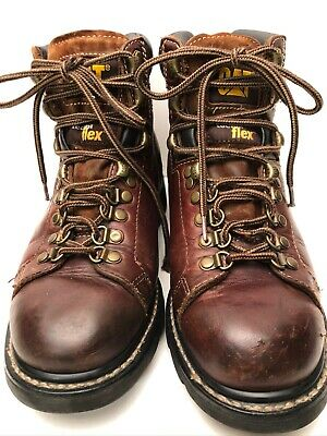 CAT Caterpillar P71560 Women's Brown Youth Work Boots Size 7.5 M Nice