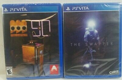PSVita Game Bundle - The Swapper / Factotum 90 - New, Sealed - FREE SHIPPING