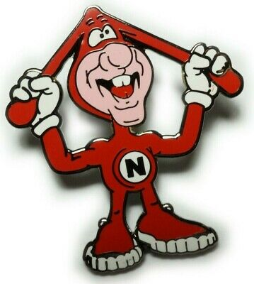 Avoid the Noid Mascot Dominos Pizza Cartoon Weed Hat Tie Tack Lapel Pin
