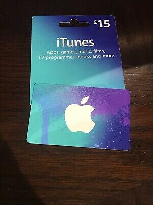 itunes gift card 15