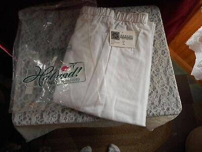 Womens Haband Nos White Pants Size 18A