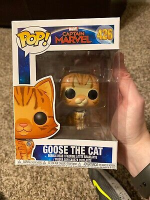 Funko Pop Marvel Captain Marvel Goose the Cat #426