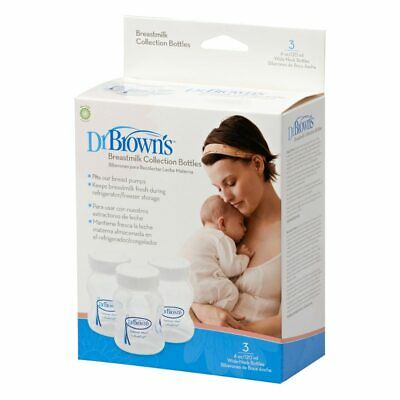 Dr Brown's Breastmilk Collection Bottles 120ml
