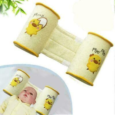 Baby Crib Infant Baby Toddler Safe Soft Cotton Anti Sleep Pillow Roll I5O2