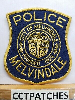 Houghton Police Michigan new from the 1980/'s Shoulder Patch