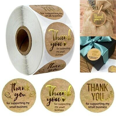 x500 Hand Made With Love Stickers Thank You Labels HandMade Homemade Craft Food