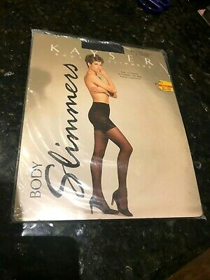 Kayser Body Slimmers-Vintage 1980's-XL Misted Navy-New in Plastic-Stunners.