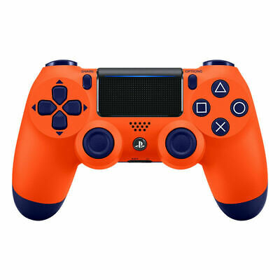 NEW SEALED (Orange)Sony & UK New PS4 DualShock 4 Controller Wave Blue V2 BRAND