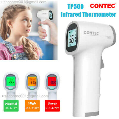 USA Infrared Thermometer LCD Non-contact Temperature Gun Digital IR Temp Meter