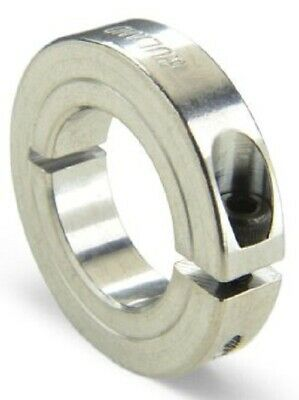 Ruland SHAFT COLLAR 30mm OD, One Piece Clamp Screw, Aluminium- 10mm Or 15mm