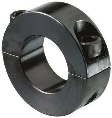 Huco SHAFT COLLAR Two Piece Clamp Screw, Black Oxide Steel- 40mm Or 50mm