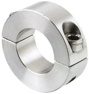 Huco SHAFT COLLAR Two Piece Clamp Screw, Stainless Steel- 6mm Or 8mm