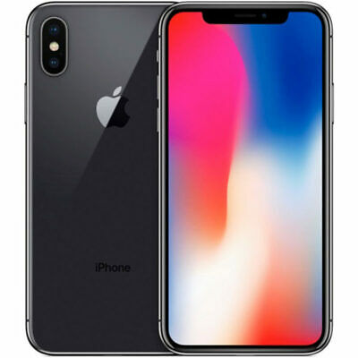 iPhone X Ricondizionato 256GB Grado A+++ Nero Black Originale Apple Rigenerato