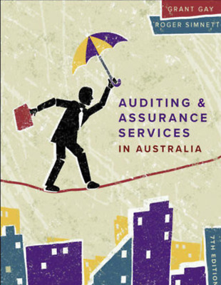 Auditing and Assurance Services in Australia 7th Edition   by Grant