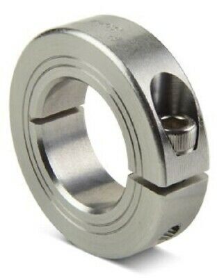Ruland SHAFT COLLAR 12mm Bore, 28mm OD, One Piece Clamp Screw, Stainless Steel