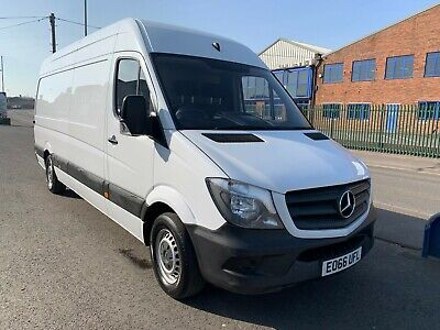 2016 (66) Mercedes Sprinter 313 Cdi 129 Lwb High Roof Van Lwb Diesel