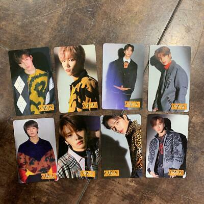 SKZ2020 Stray kids straykids Japan Photo Calendar Card 8 Full set