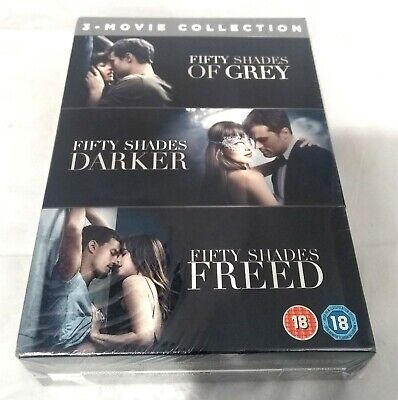 Fifty Shades 3-Movie Collection (DVD, 2018)