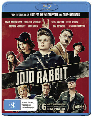 Jojo Rabbit  - BLU-RAY - NEW Region B