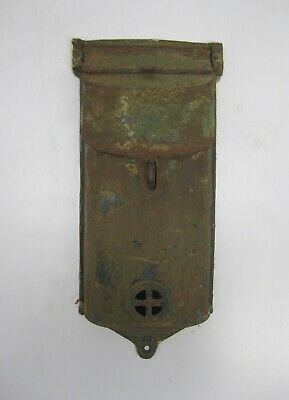 Antique Vtg Griswold Cast Iron Mailbox Letter Box Wall Mount 353 198 Salvaged