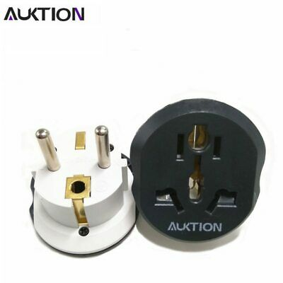 AUKTION 16A Universal EU(Europe) Converter Adapter 250V AC Travel Charger Wall
