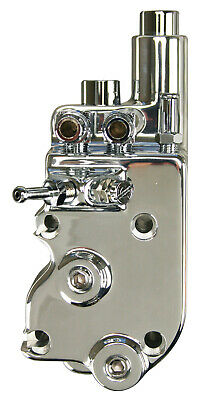 Complete Forged Chrome Oil Pump for Harley Big Twin 1973-1991