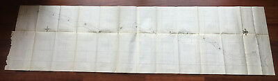 1898 Sketch Map Treaty of Ghent Channels at Head of Lake St. Claire
