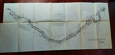 1905 Sketch Map of Mississippi River, Crains Island, Saint Louis