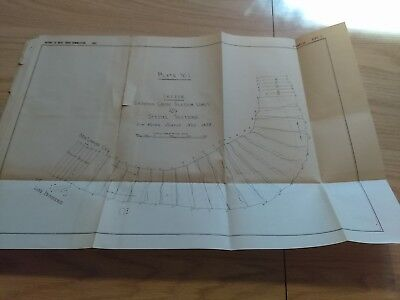 1882 Mississippi River Commission Low Water Survey Diagram Lake Providence