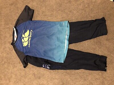 Canterbury Tshirt Age 12 And Canterbury Uglies Tracksuit Bottoms Age 10