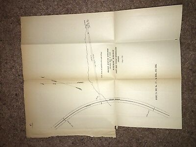 1881 GPO Map Diagram Water Station Lava Fort Hall Indian Reservation Idaho