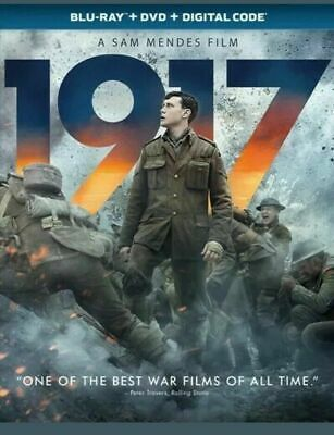 1917 (Blu-ray+DVD+Digital) NEW w/SLIP