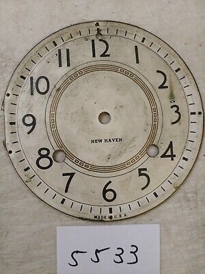 New Haven Tambour Mantle Clock Dial