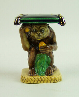 Minton - Monkey Garden Seat Figurine - Limited Edition - Made In England