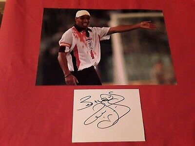 Paul INCE Signed Manchester United & England Autograph 12x8 Photo AFTAL COA