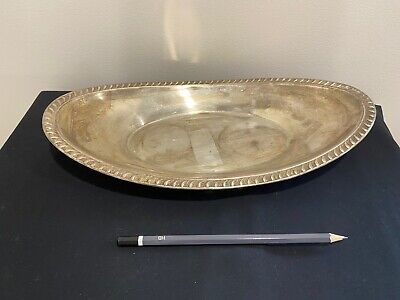 Antique 1883 F B Rogers Stainless Steel Tray