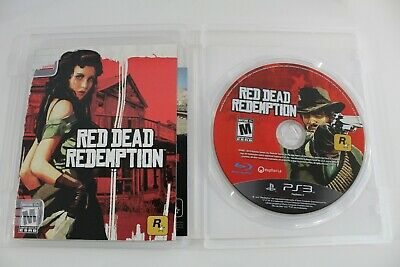 Red Dead Redemption (PlayStation 3, 2010) - Manual & Map Included - Tested