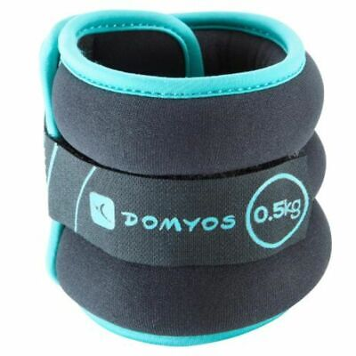 Nyamba Tone Softbell Adjustable Wrist And Ankle Weights Twin-Pack 0.5 Kg