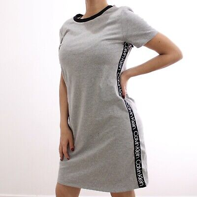 Calvin Klein Women's Side Line Grey Sport Dress | NWT