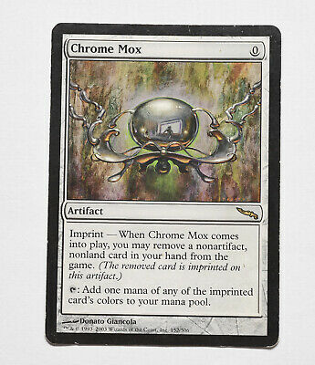 Magic The Gathering MTG Mirrodin Chrome Mox - Damaged/HP - Original Printing