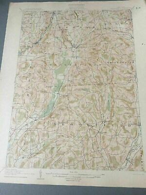 US Geological Survey Topography Map,1904  Quadrangle Santanoni , New York