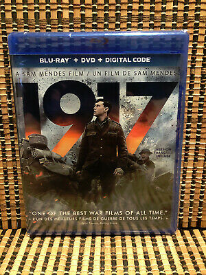 1917 (2-Disc Blu-ray/DVD, 2020)Sam Mendes/Benedict Cumberbatch.WWI.World War.