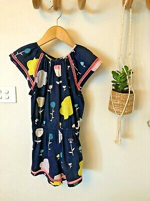 Country Road Floral Jumpsuit Size  5 RRP $69.95