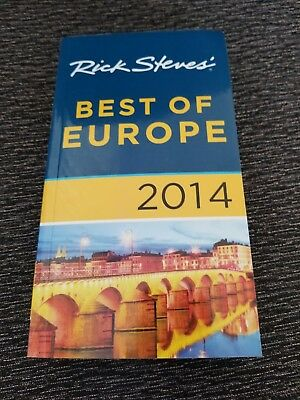 RICK STEVES' BEST OF EUROPE Travel Guide 2014 **BRAND NEW**