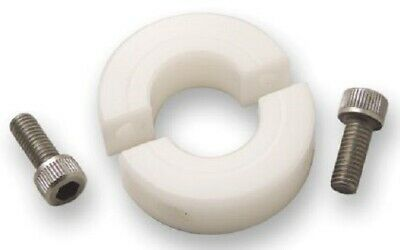 Ruland SHAFT COLLAR Two Piece Clamp Screw, Plain Plastic- 20mm Or 25mm