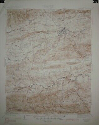 4 USGS Topographic Maps 15 minute from Virginia with railroads