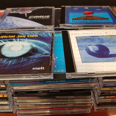Electronic Music Lot #1 Pick Any 5 CDs For $15 - Free Shipping
