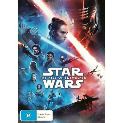 Star Wars The Rise Of Skywalker BRAND NEW DVD IN STOCK NOW