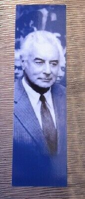 Gough Whitlam The Dismissal bookmark from Old Parliament House Labor ALP PM