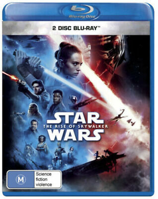 Star Wars The Rise of Skywalker Blu-ray BRAND NEW IN STOCK NOW